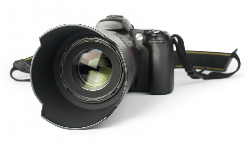 Some digital cameras include a digital video camera lens that's permanently attached to the camera.