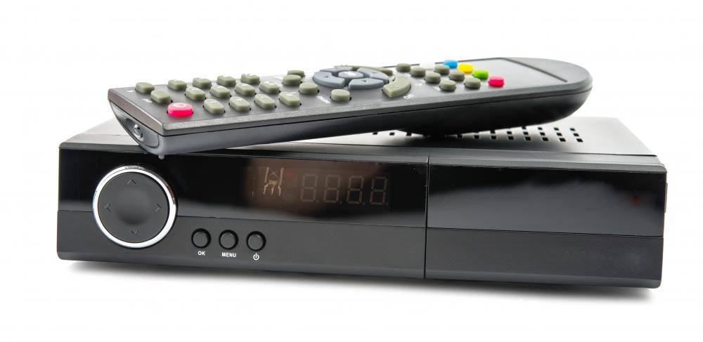 A converter box is often necessary to get digital TV on an analog television.