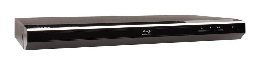 A Blu-ray® player for a home theater.