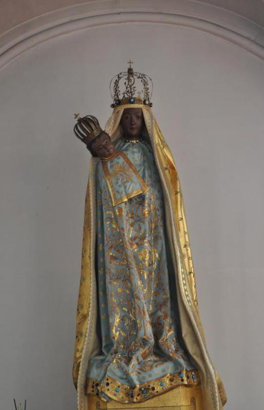 A Black Madonna is an image of the Virgin Mary with black skin.