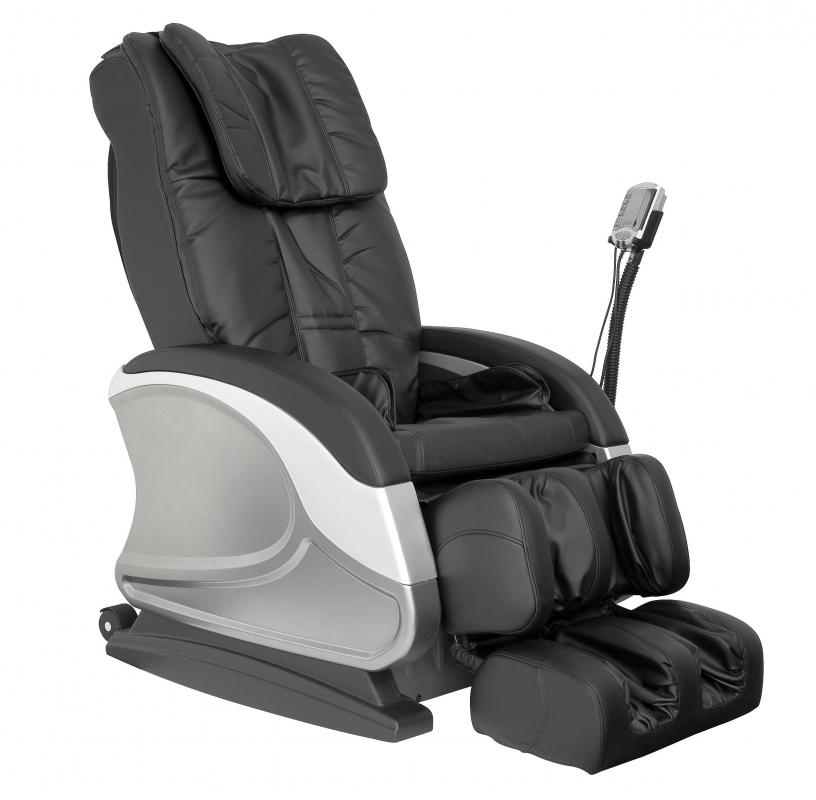 Massage chairs may be used at nail bars for customers to sit in while being treated.