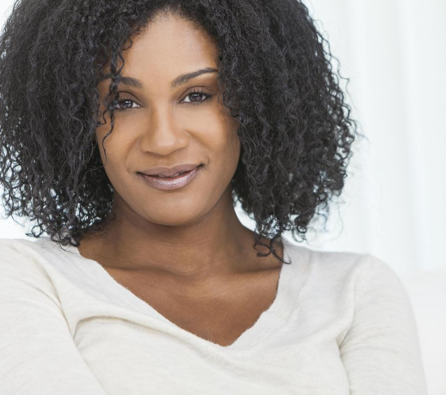 Some African American women use texturizer in order to maintain a natural hairstyle.