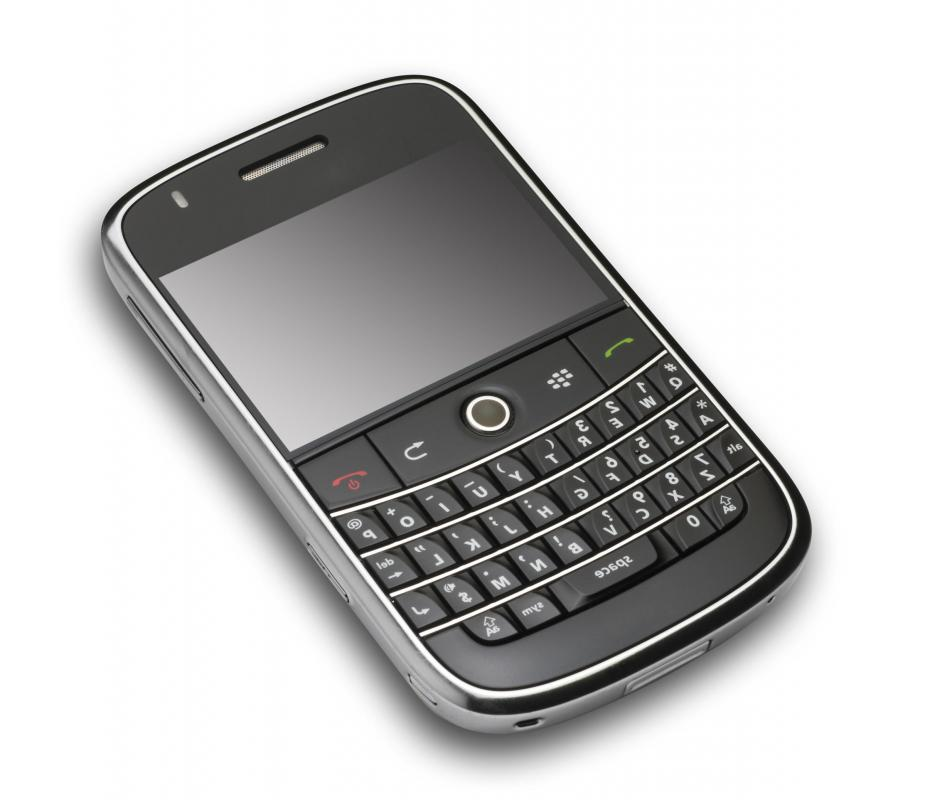 A BlackBerry®.