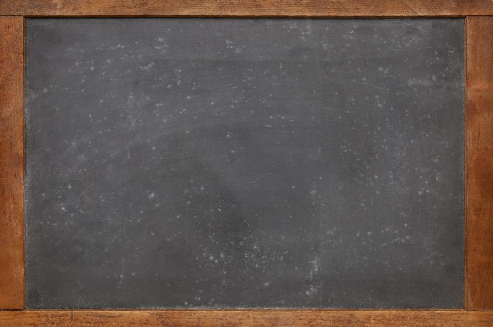 what is the history of the chalkboard with pictures
