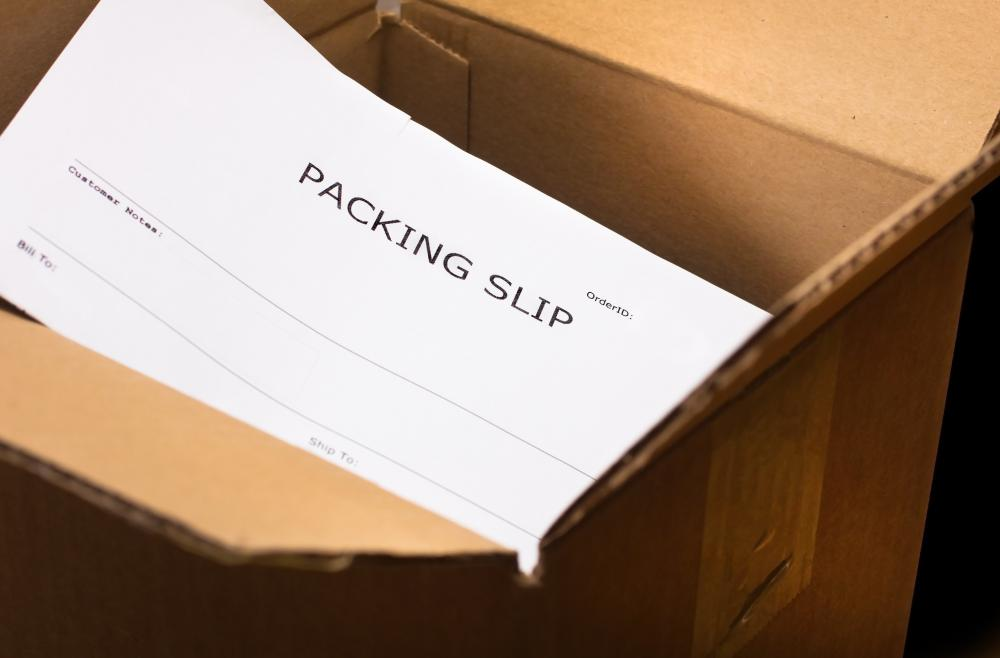 What is a Packing Slip with pictures – Packing Slips for Shipping