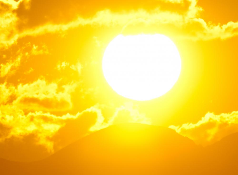 The sun emits UV radiation, which is a form of cosmic radiation.