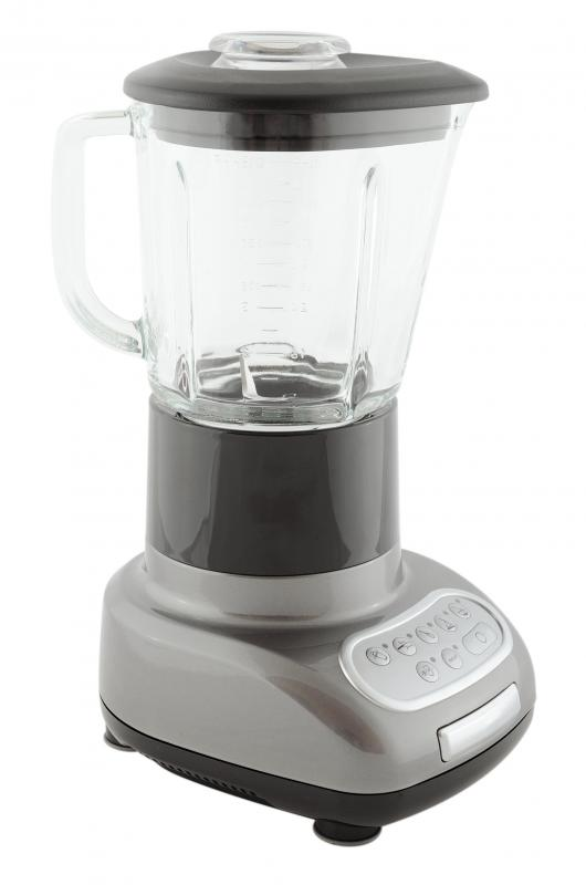 A blender can help mix the different ingredients together to make a mango shake.