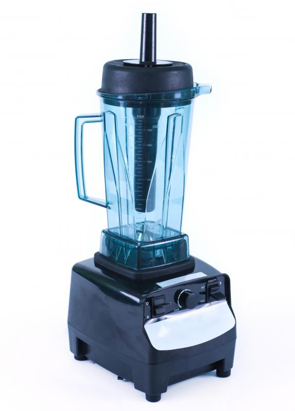 A common household blender will mix a shake easily.
