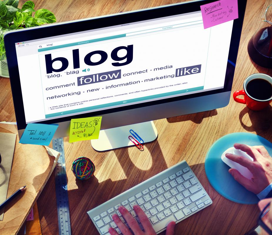 An individual can create a blog with their own original content and then add clickable advertisements to it.
