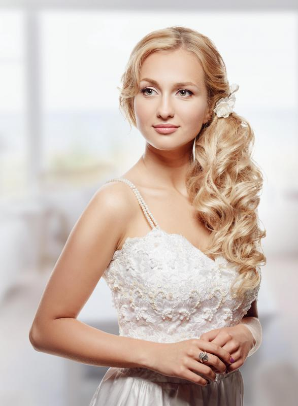 Wedding insurance might cover the costs of a bridal gown if it needs to be replaced.