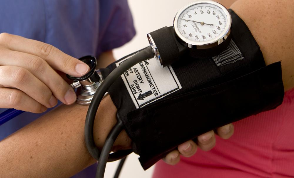 High blood pressure may be a side effect of ingesting antifreeze.