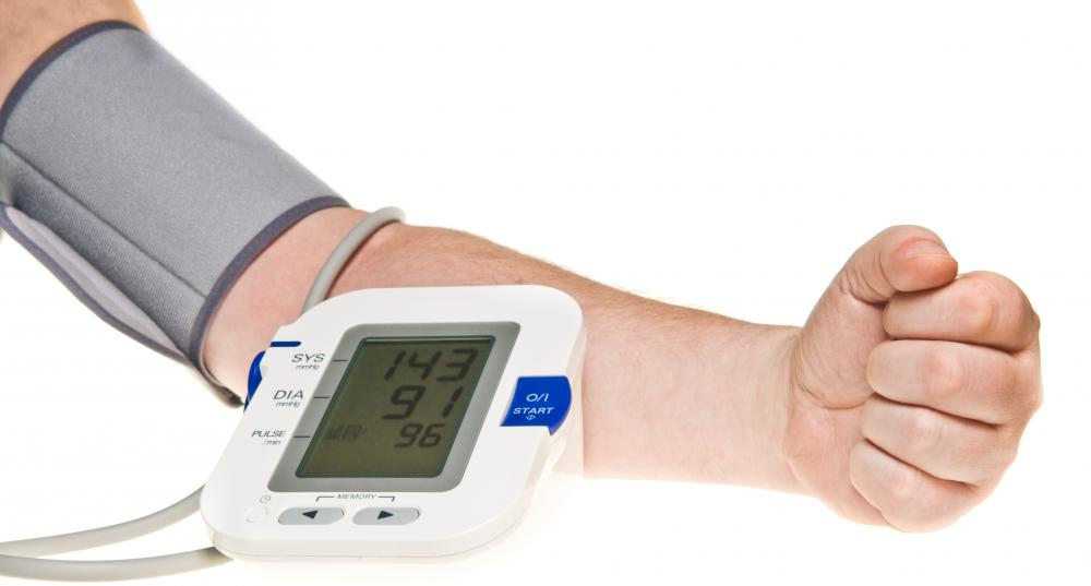 Blood pressure at the wrist is a good indicator of overall blood flow in the body.