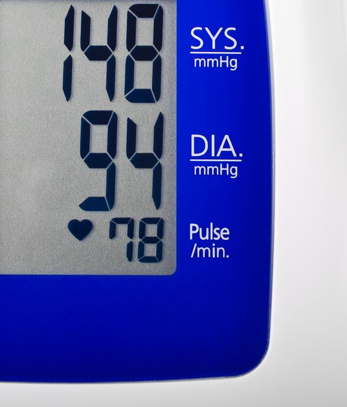 Generally, doctors recommend resting blood pressure levels be below 120/80.