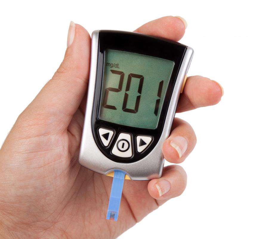 Diabetics with hyperchloremia may have high blood sugar levels.