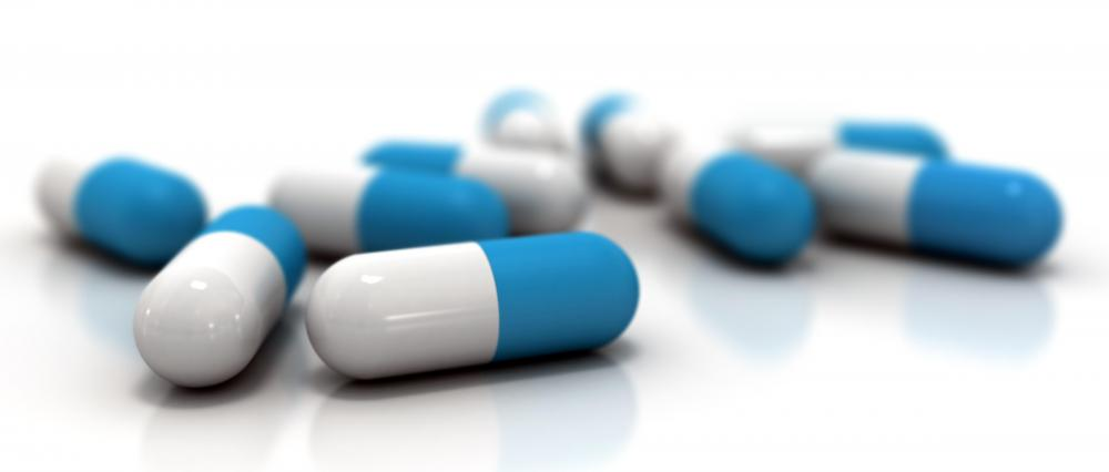 Oral antibiotics may be used to treat a bacterial infection.