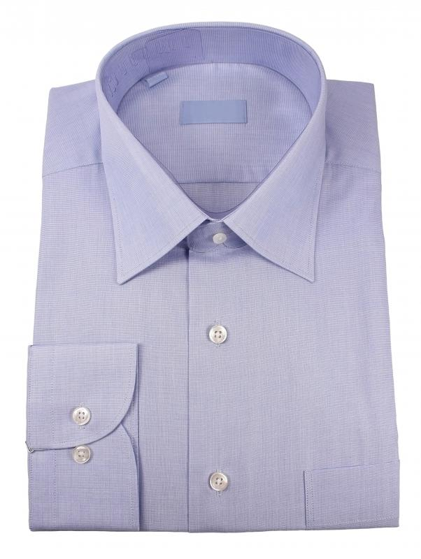 A slim fit dress shirt conforms to the body much better, giving the appearance it's been tailored.