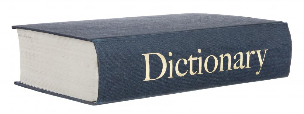 School supplies can include general or specialized dictionaries.