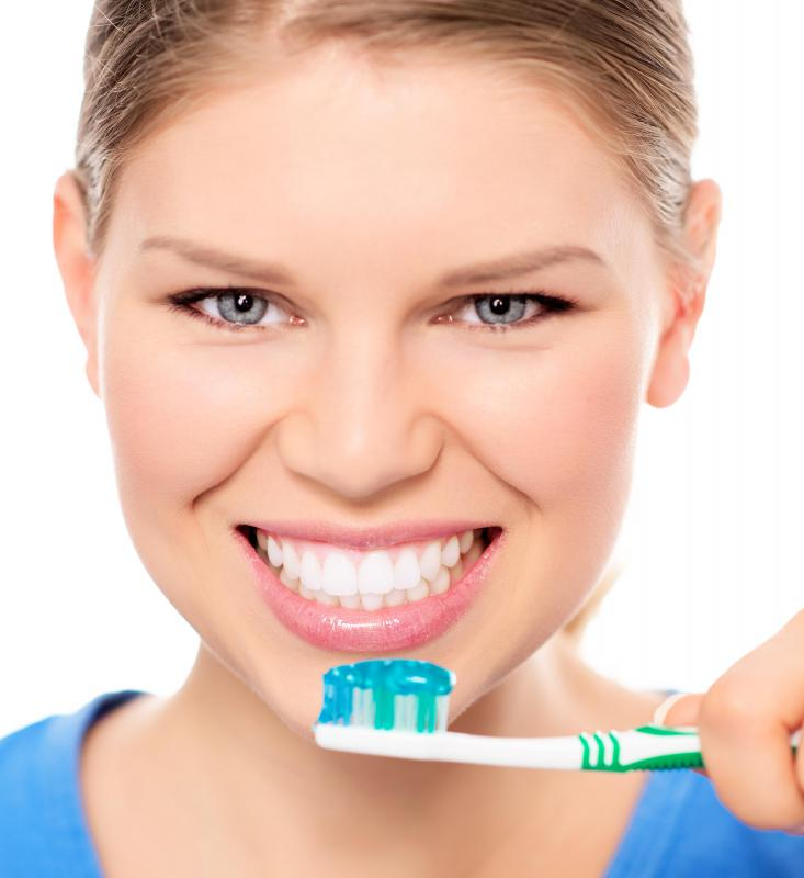 Some kinds of toothpaste contain carrageenan.
