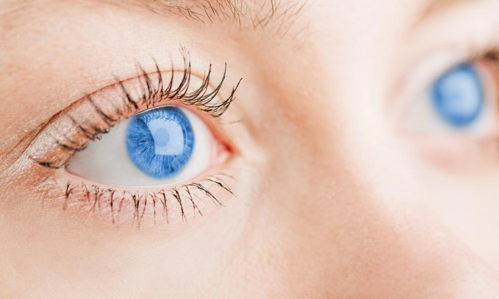 The gene responsible for blue eyes is recessive.