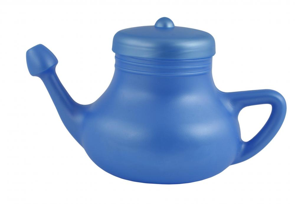A neti pot may be useful for reducing allergy symptoms.