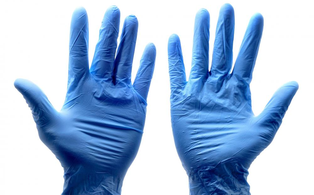 Neoprene may be found in medical gloves.