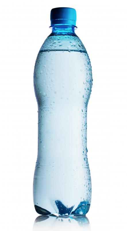 Stockpiles of bottled water can be helpful if a natural disaster occurs.