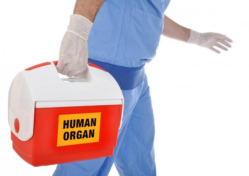 Some people may have to wait a while for a donor organ.