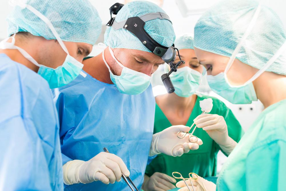 Surgical technicians work with medical teams to ensure surgical procedures run smoothly.