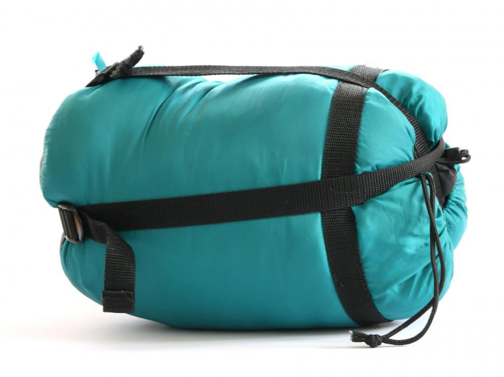 Sleeping bags are a necessity for an overnight hiking trip.