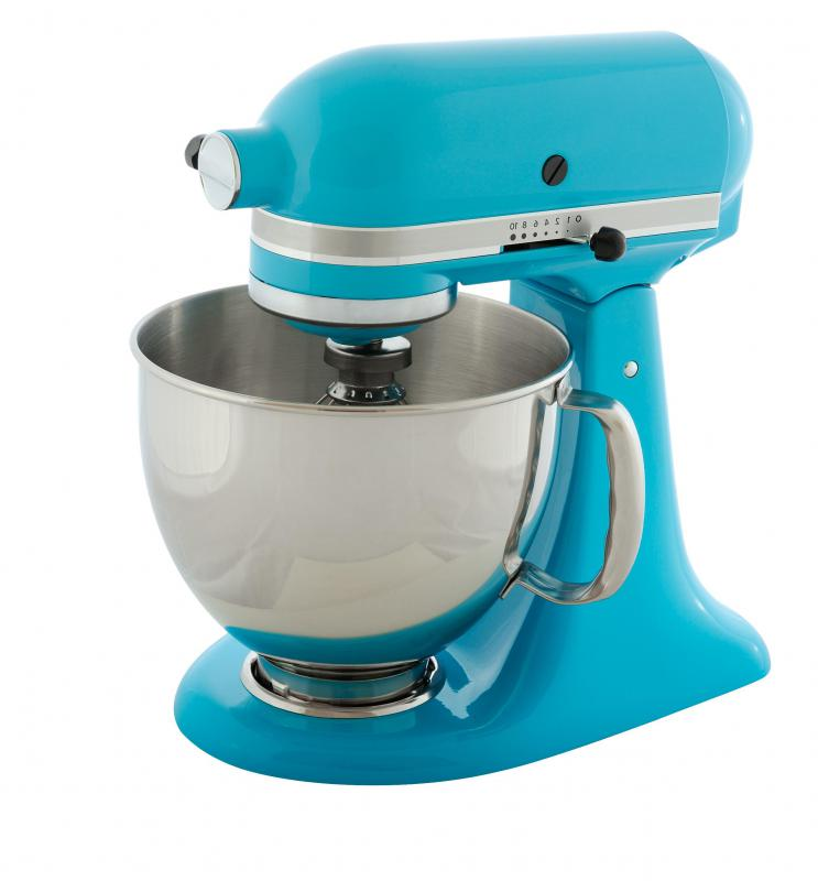 Mixing bowls or automatic mixers are important to have in a kitchen.