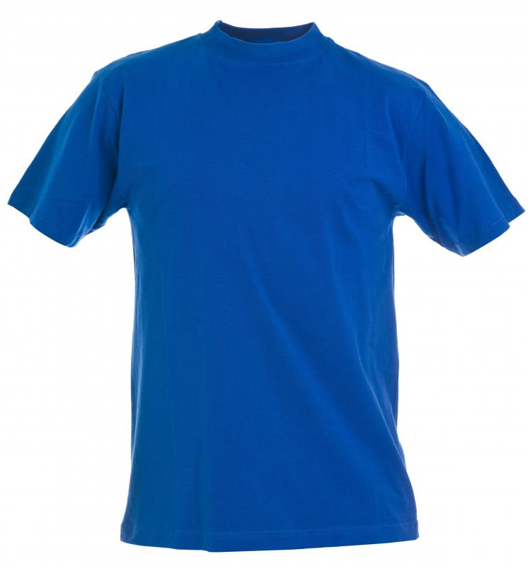 A cotton T-shirt.