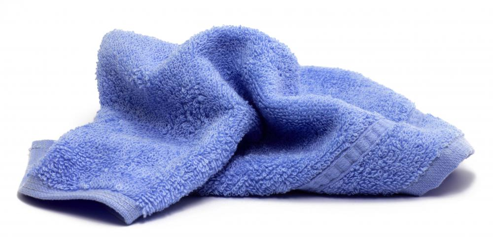 A cool, wet washcloth soothes dark under eye circles.
