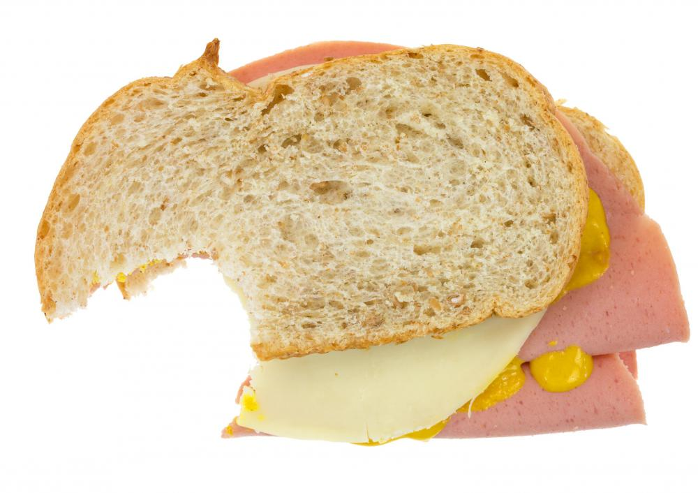 Deli meat sandwiches are a more affordable option for lunch than eating out.