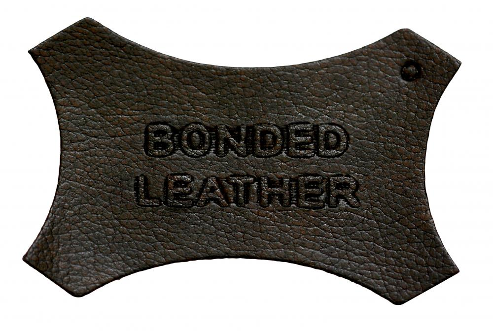 Bonded leather, which is sometimes used to make leather coats.