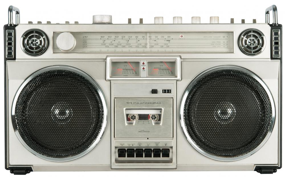 Stereos with tape decks were a popular way to listen to and record music from the 1970s to the 1990s.