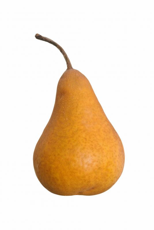 Bosc pears are often used in pear tarts.