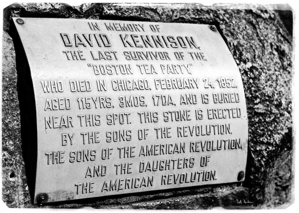 David Kennison, the last survivor of the Boston Tea Party, lived to 115 years of age.