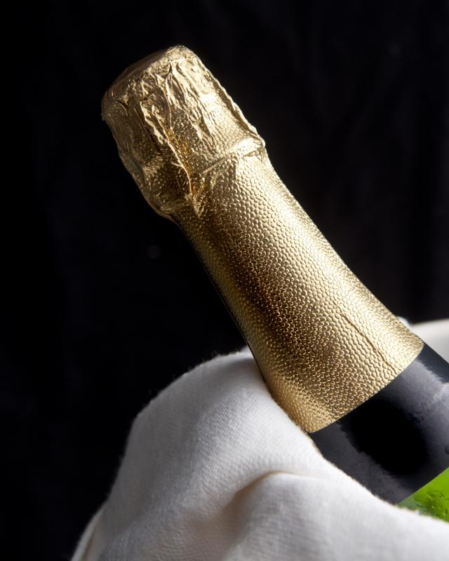 Champagne is at its best quality when bottled for a few years.