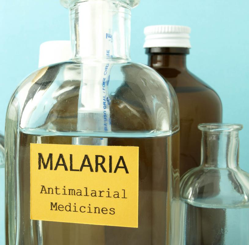 Different anti-malaria medications are required depending where in the world one is traveling.