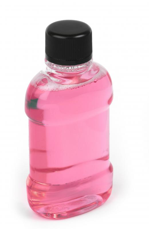 Salt water is sometimes used to avoid the alcohol and other ingredients present in commercial mouthwash.