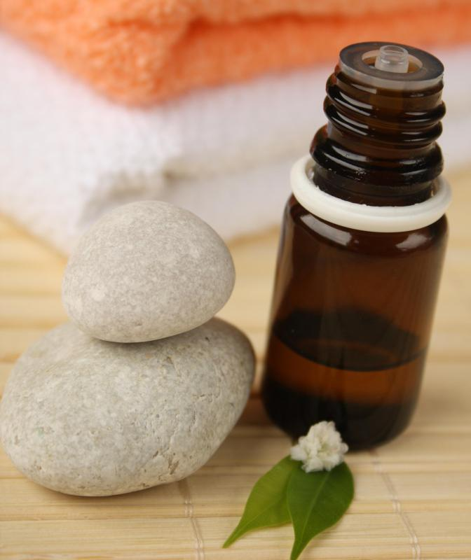 Tea tree oil has been used in some natural acne-fighting solutions.