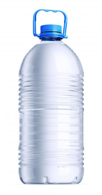 Disaster experts recommend that bottled water be kept with a home or vehicle's emergency kit.
