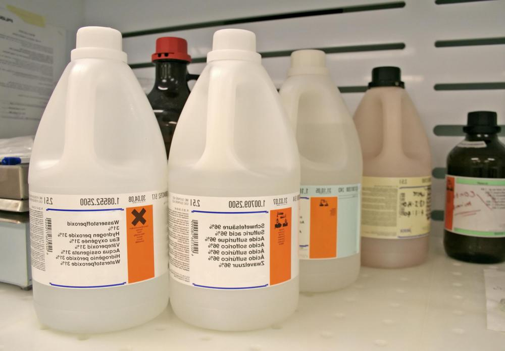 Sulfuric acid is a colorless, odorless and oily liquid.