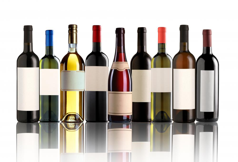 Wine producers decide on what types of wines will be made.