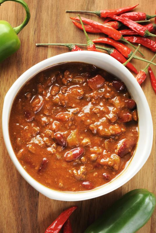 Canned red beans are an easy addition to chili, although the flavor may not be as fresh as with dried beans cooked from scratch.