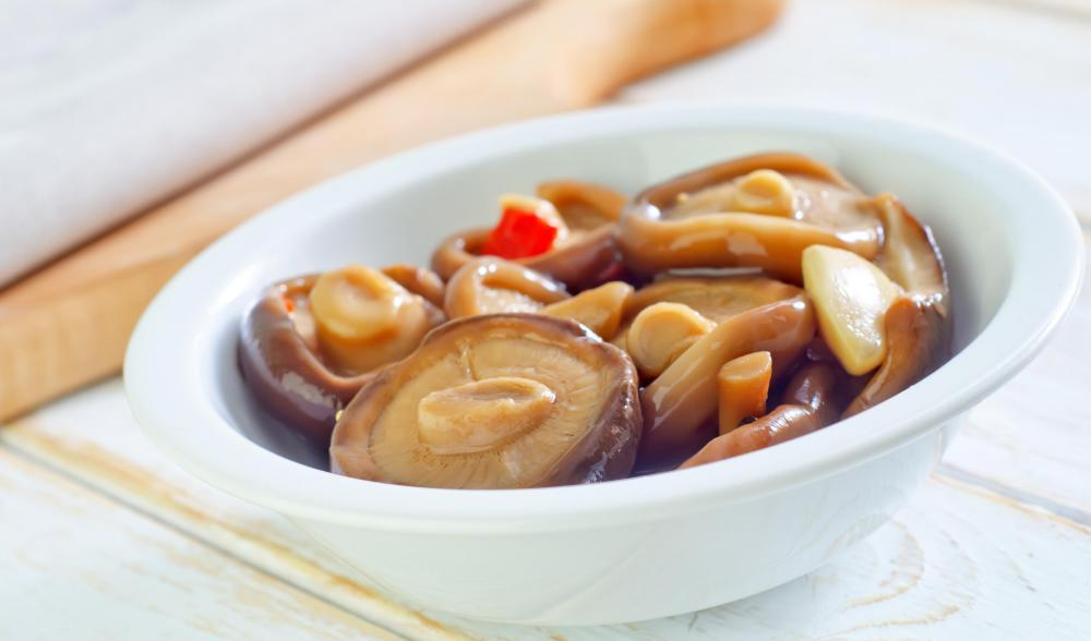 A favorite in many Japanese and other Asian dishes, mushrooms, depending on the variety, are often rich in ergosterol, or pro-vitamin D2, as well as fiber and certain minerals, such as selenium.