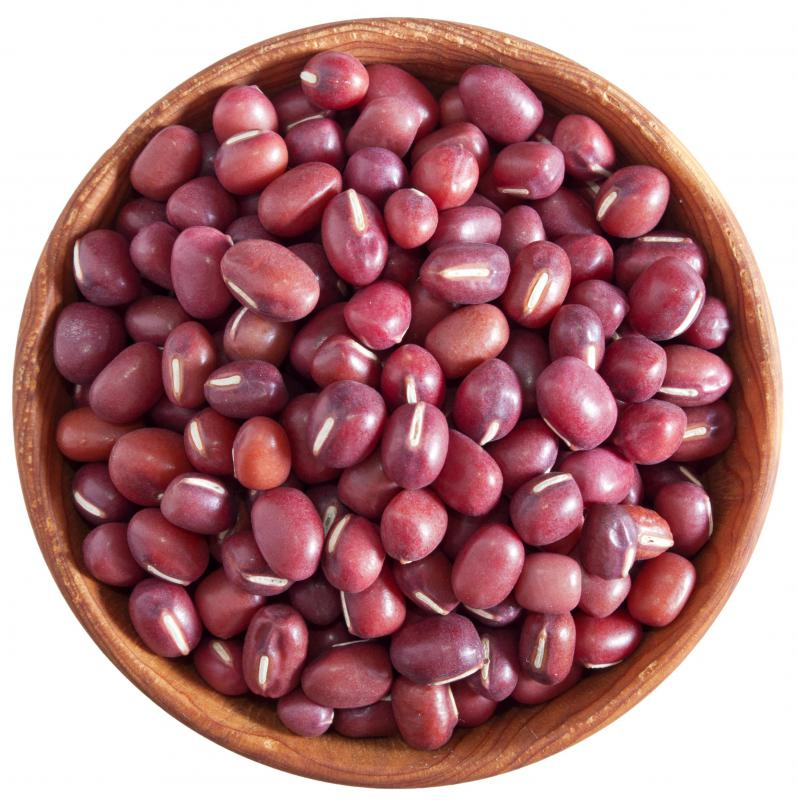 Adzuki beans, which are often used in Japanese skin care products.