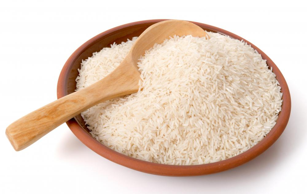 Doctors may suggest a bland food diet that includes rice for bowel infection sufferers.