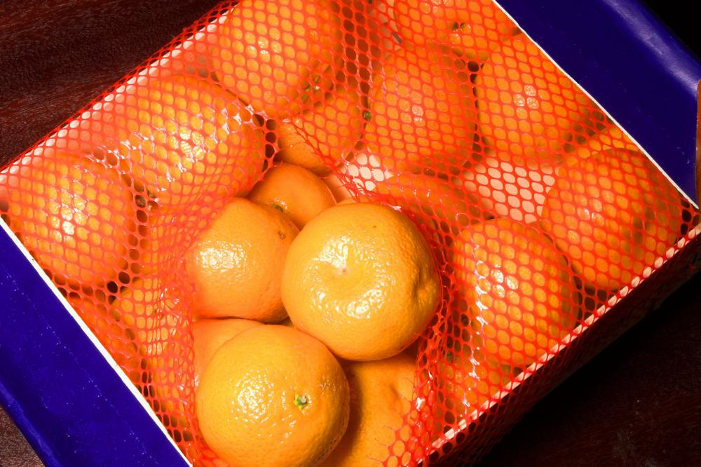 Though satsuma oranges are usually canned, they can be sold in packaged form.