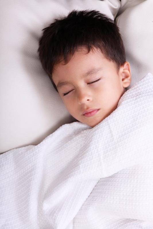 Using the same bedtime routine every night can help children fall asleep.